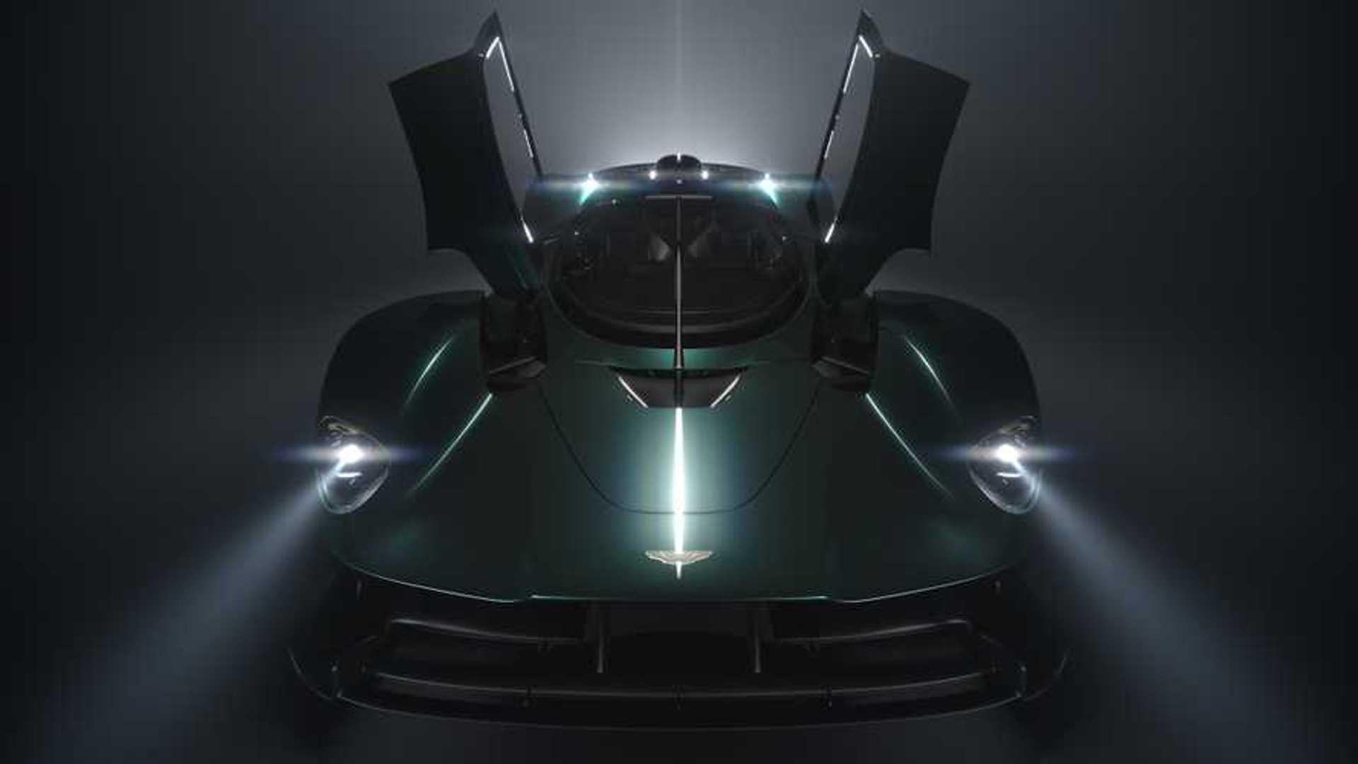 Aston Martin'den Valkyrie Roadster teaser'ı!