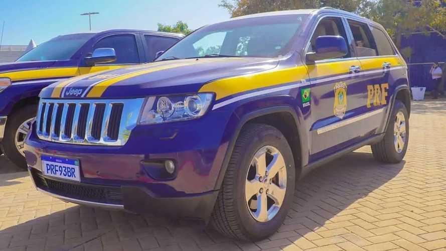 Le auto della polizia brasiliana