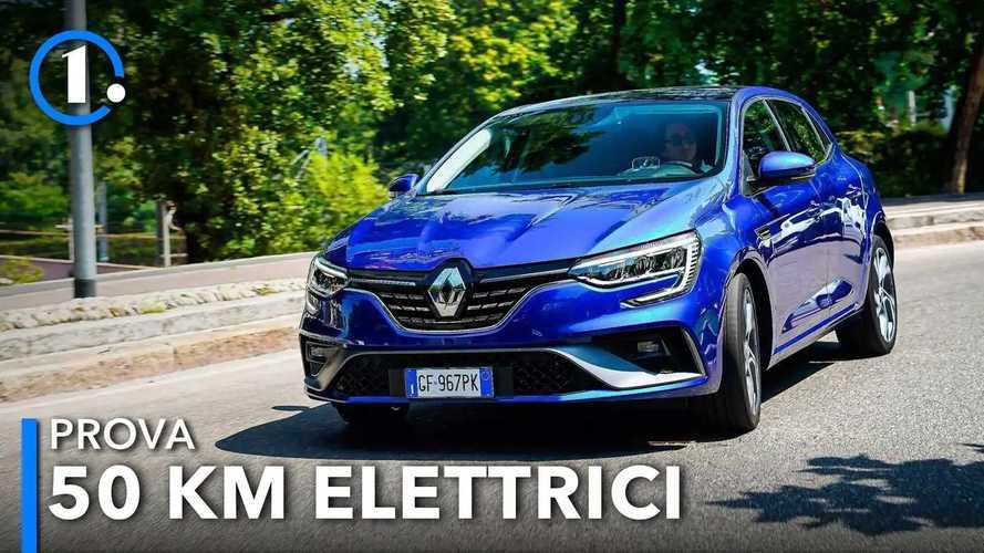 Renault Mégane E-Tech, la prova della berlina ibrida plug-in