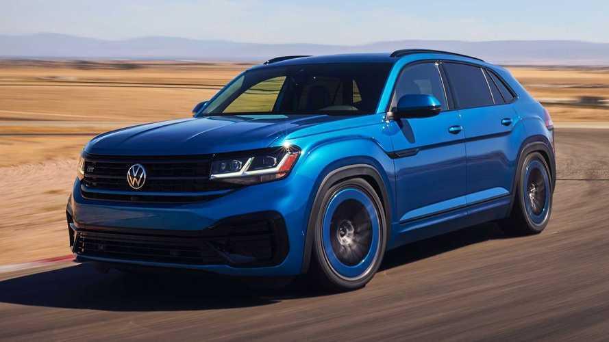 Volkswagen Atlas Cross Sport GT Concept: más potente y agresivo