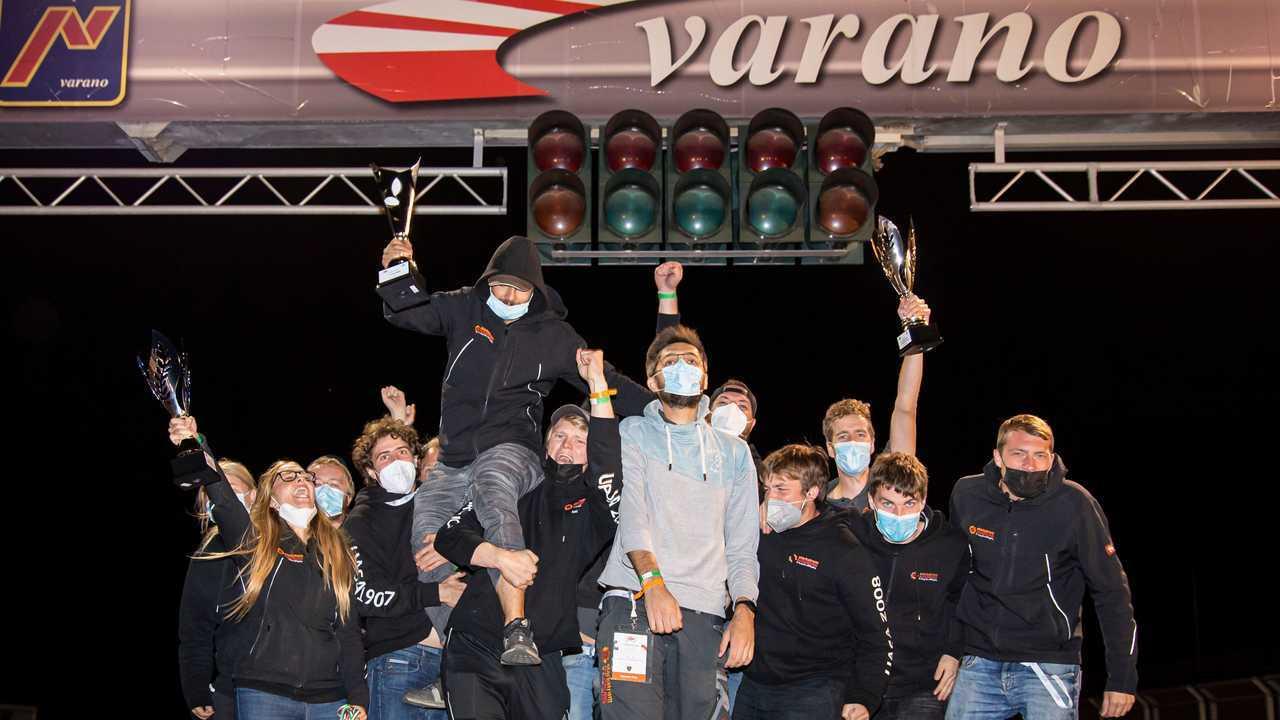 Primo posto Classe 1D Formula Sae Italy 2021