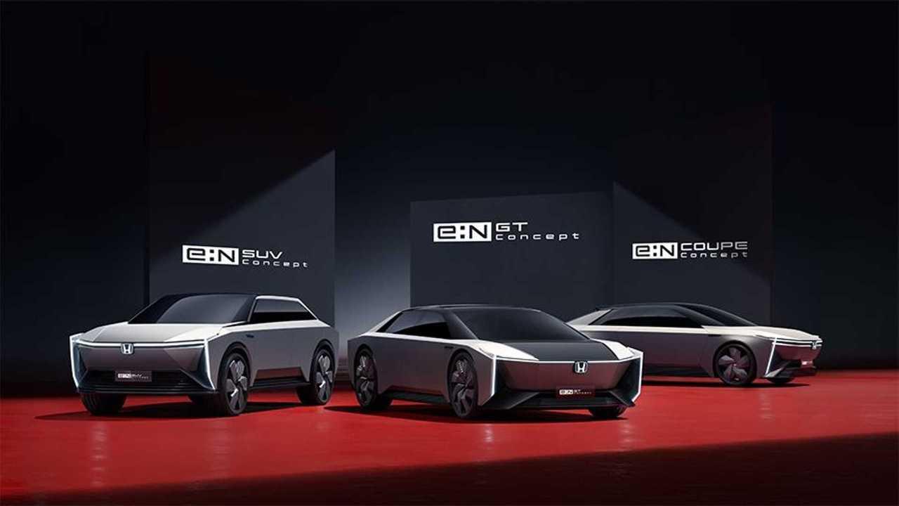 Concept elettriche Honda