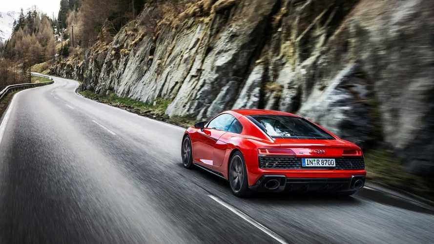 Audi R8 Coupé V10 performance RWD, más potente y prestacional