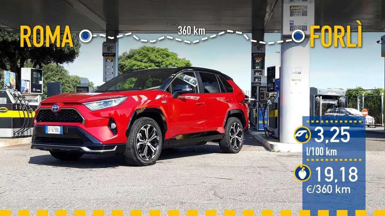 Prueba de consumo Toyota RAV4 Plug-in Hybrid