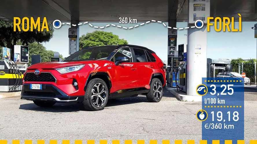 Toyota RAV4 Plug-in 2021: prueba de consumo real