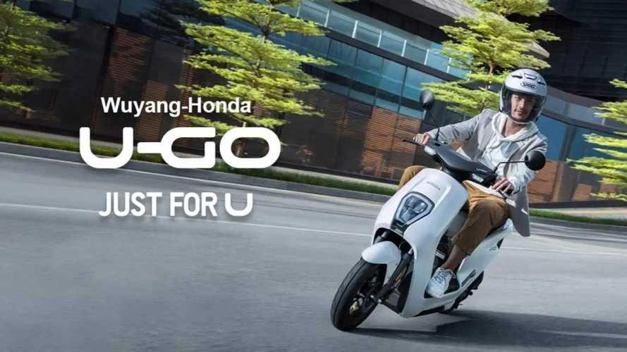 Honda U-GO Skuter Listrik Termurah Meluncur di Cina