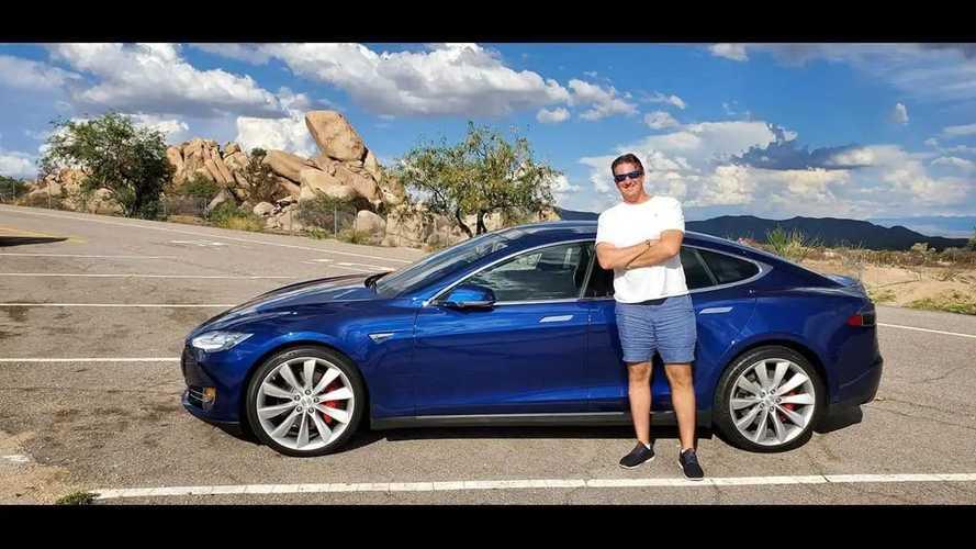 Ex-Jay Leno 2015 Tesla Model S P90D