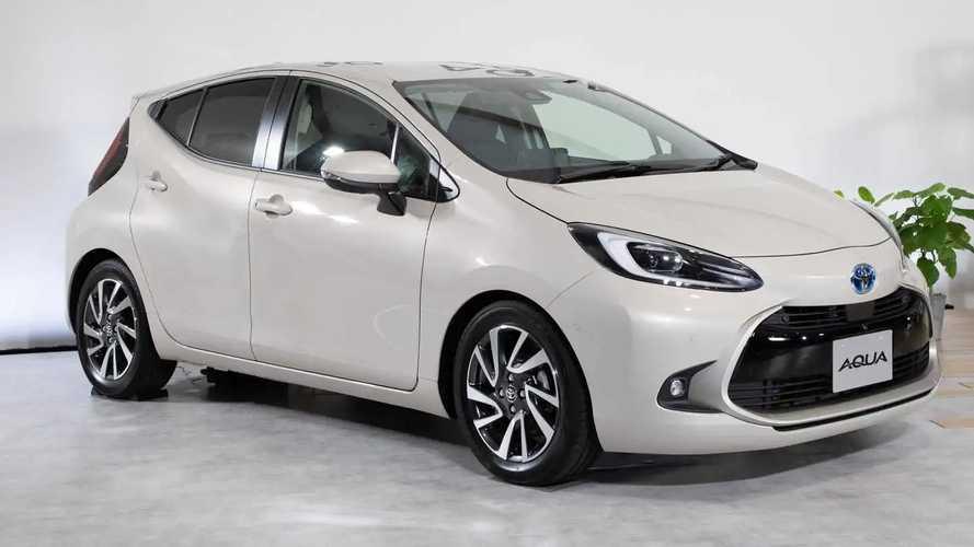 Toyota Aqua 2022: el nuevo Prius C híbrido, solo para Japón