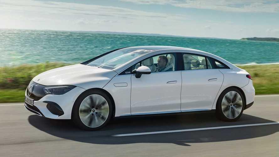 Mercedes EQE, leitura elétrica do Classe E, faz estreia oficial