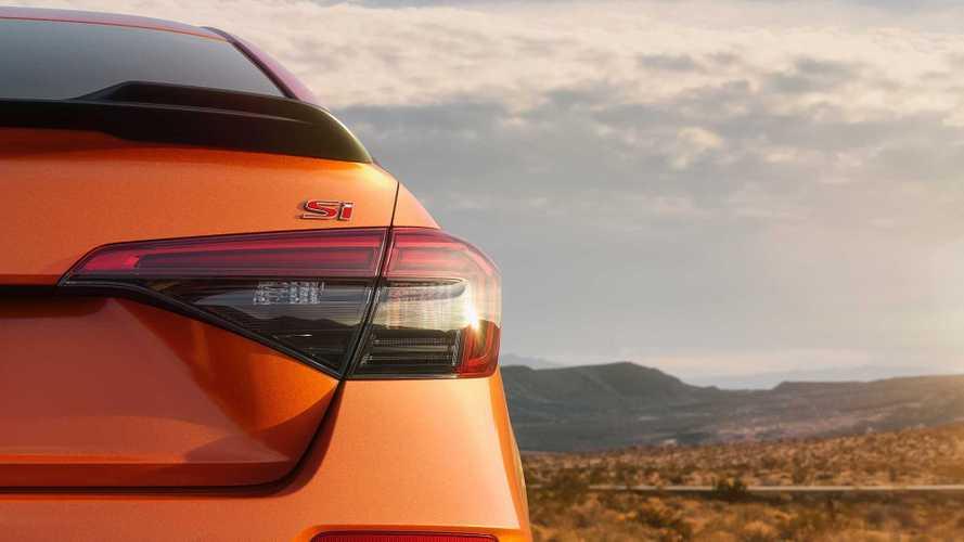Novo Honda Civic Si 2022 revela traseira e estreia amanhã