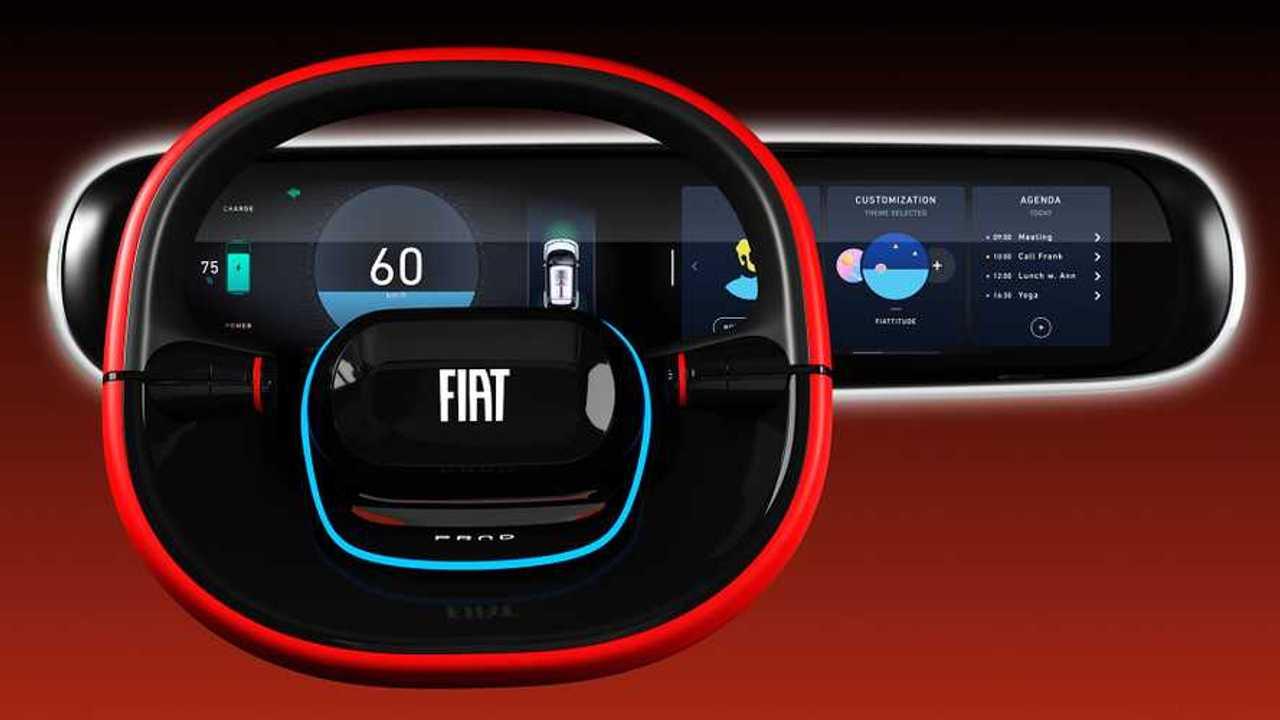 Quadro strumenti Fiat Concept Centoventi
