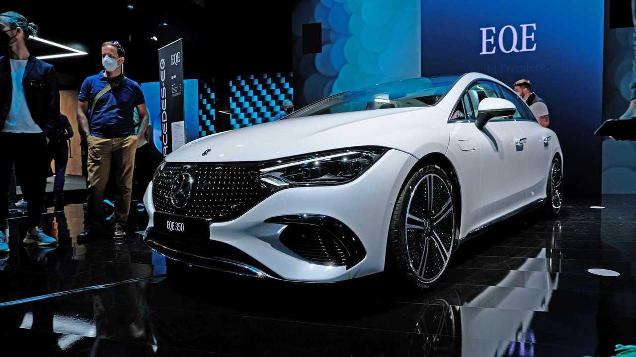 Mercedes-Benz EQE 350 at IAA 2021