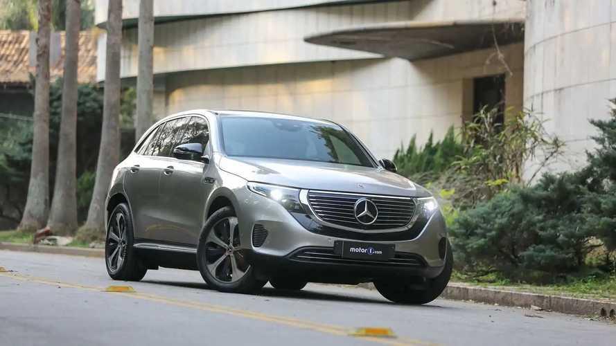 """Teste Mercedes-Benz EQC 400 2021: o SUV elétrico """"moderno retrô"""""""