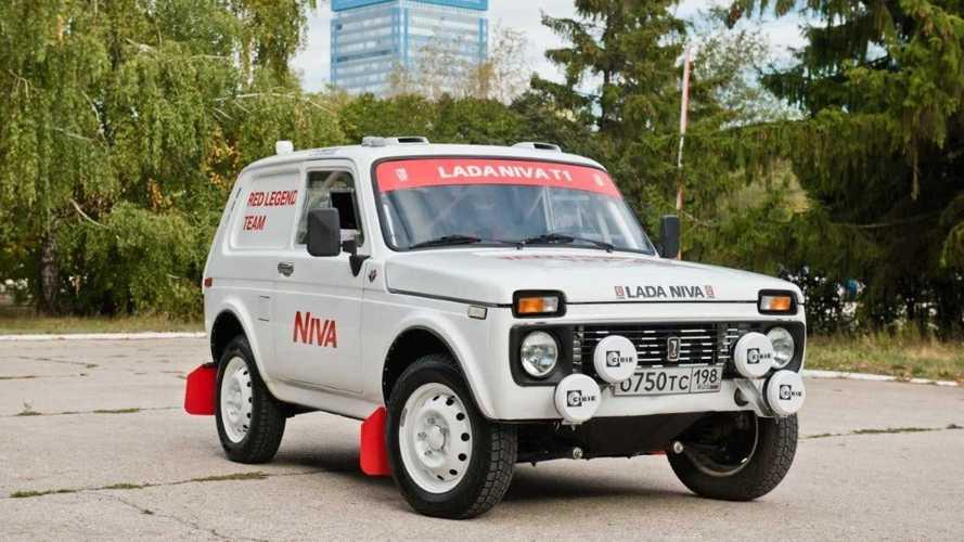 AvtoVAZ nos enseña imágenes de su Niva para el Rally Dakar