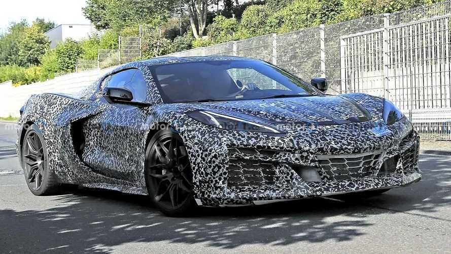 Chevy Corvette E-Ray Hybrid Spied Near The Nurburgring