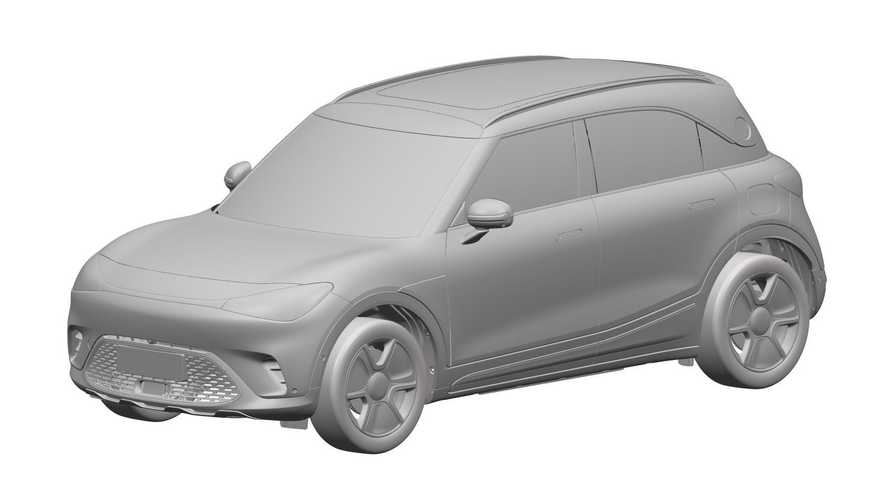 Smart Production Crossover Takes After Concept #1 In Design Patents