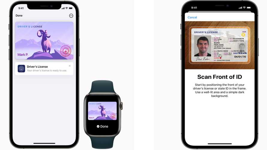 Apple Wallet Adds Digital Driver's License For Use In Several States