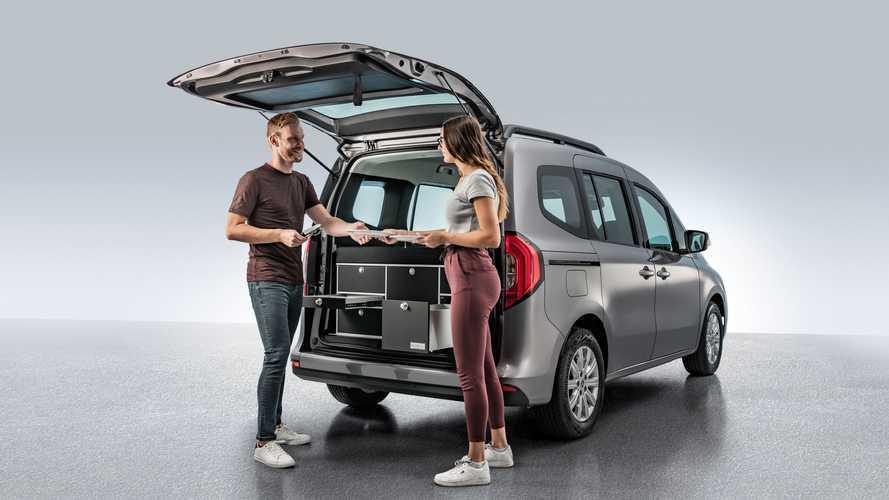 Karşınızda mutfağı ve yatağıyla 2021 Mercedes Citan Micro Camper