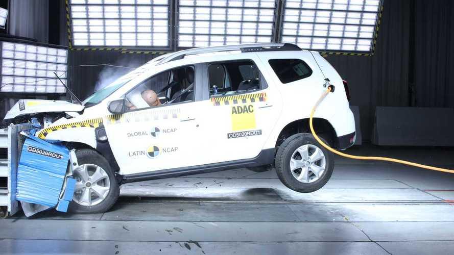 Renault Duster – краш-тест Latin NCAP