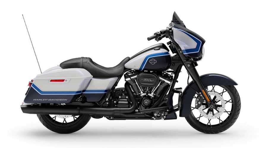 Harley-Davidson Street Glide Special Arctic Blast, Warnanya Adem