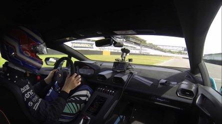 Lamborghini Huracan STO laps Hockenheim with remarkable speed