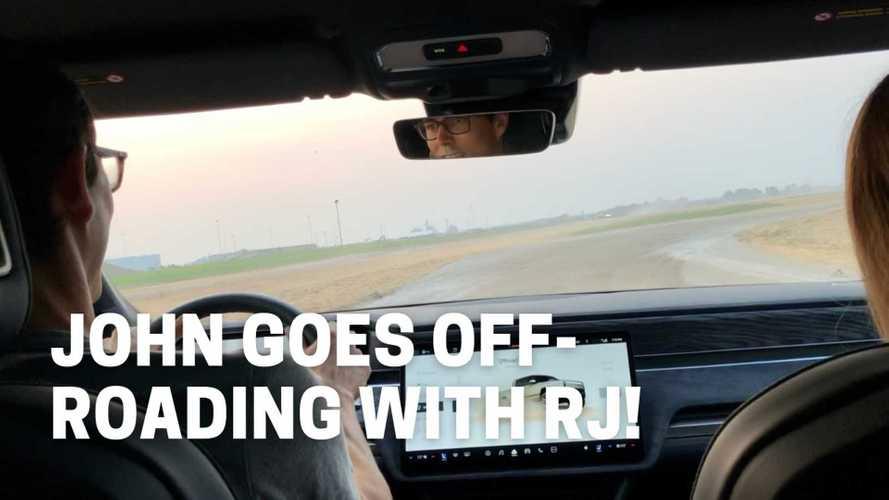 Rivian R1T Is A Blast Off-Road, Tesla Model S Fast On The Track