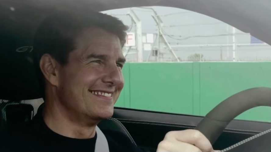 UK: Tom Cruise channels Top Gun for thrilling video with Porsche 911 GT3s