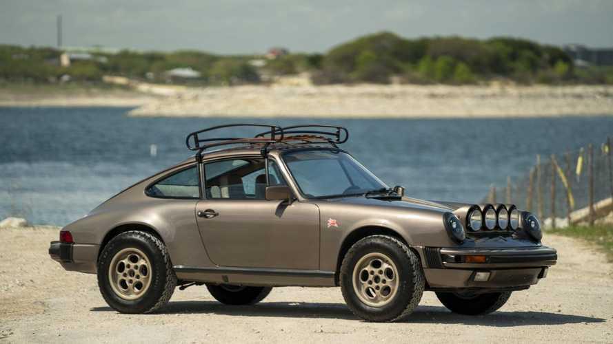Vár Afrika, ha van pénzed megvenni ezt a szafariautóvá alakított Porsche 911 SC-t