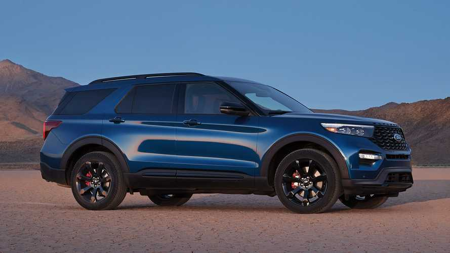 2022 Ford Explorer ST Revealed With Rear-Wheel Drive, New ST-Line