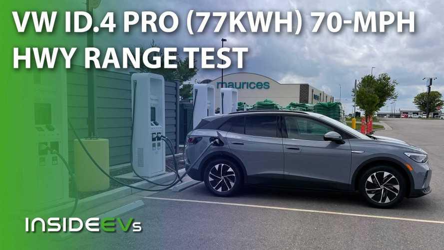 Volkswagen ID.4 Pro 70-MPH Highway Range Test