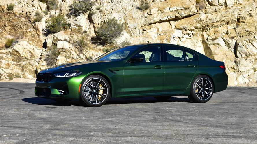2021 BMW M5 Competition Review