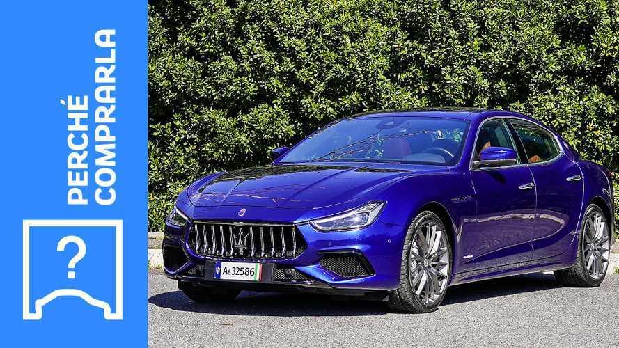 Maserati Ghibli (2021), perché comprarla e perché no