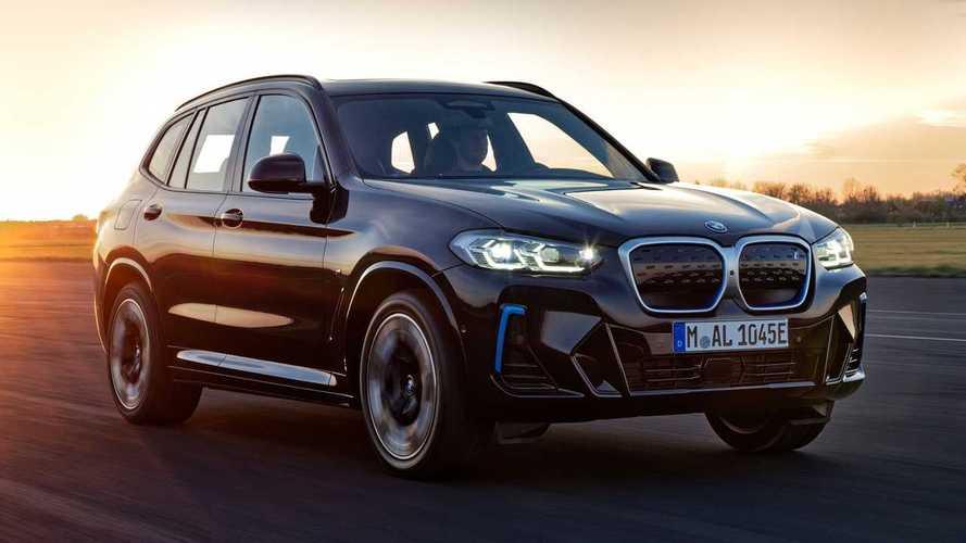 BMW уже обновила электрический кроссовер iX3