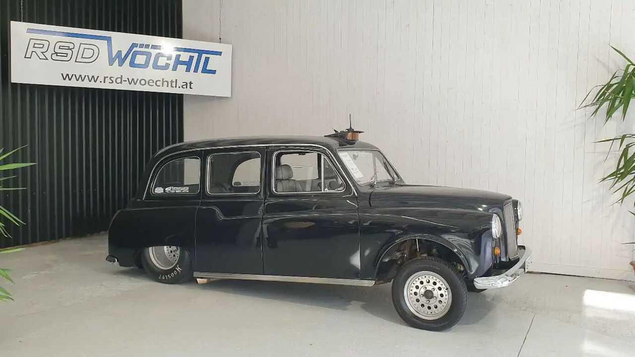Il taxi londinese con motore V8 Chevrolet
