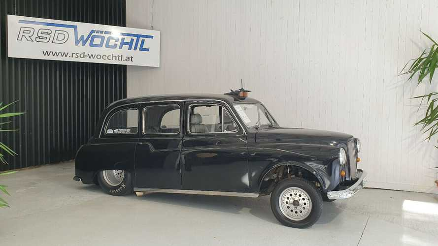 1989 London Taxi With Chevy V8 Is A Weird Way To Spend $41,000
