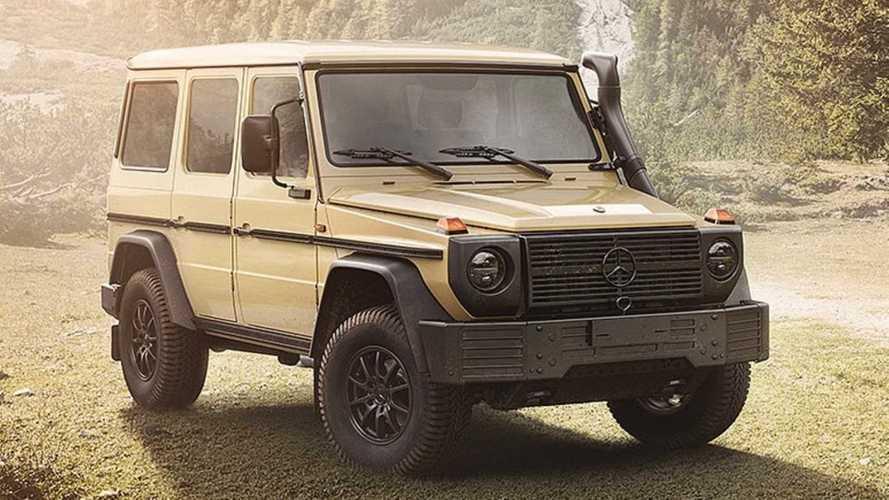 Así es el nuevo Mercedes-Benz Clase G para uso militar