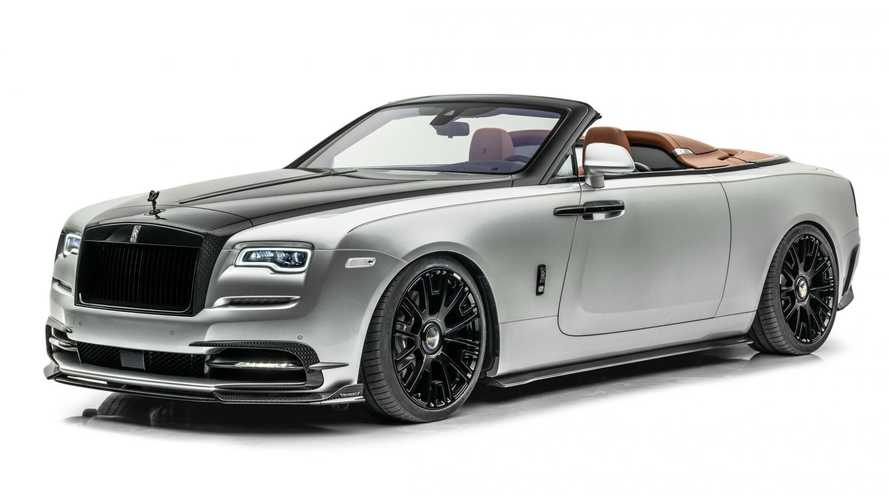 Rolls-Royce Dawn Silver Bullet gets attractive updates from Mansory