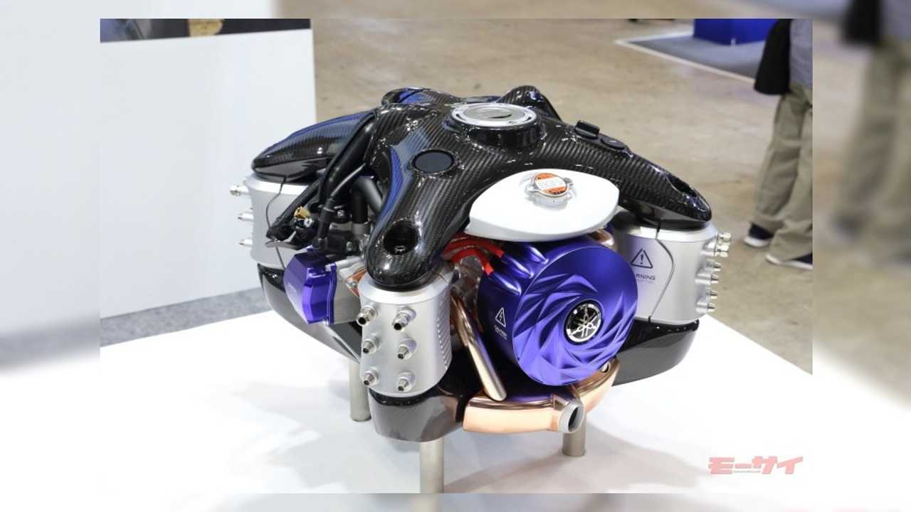 Yamaha Boxer Engine Drone Concept