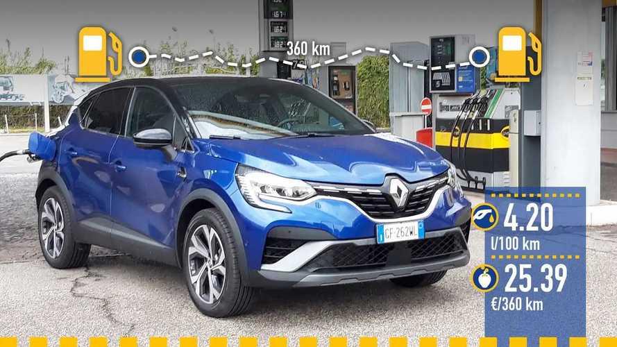 Renault Captur E-Tech, le test de consommation réelle