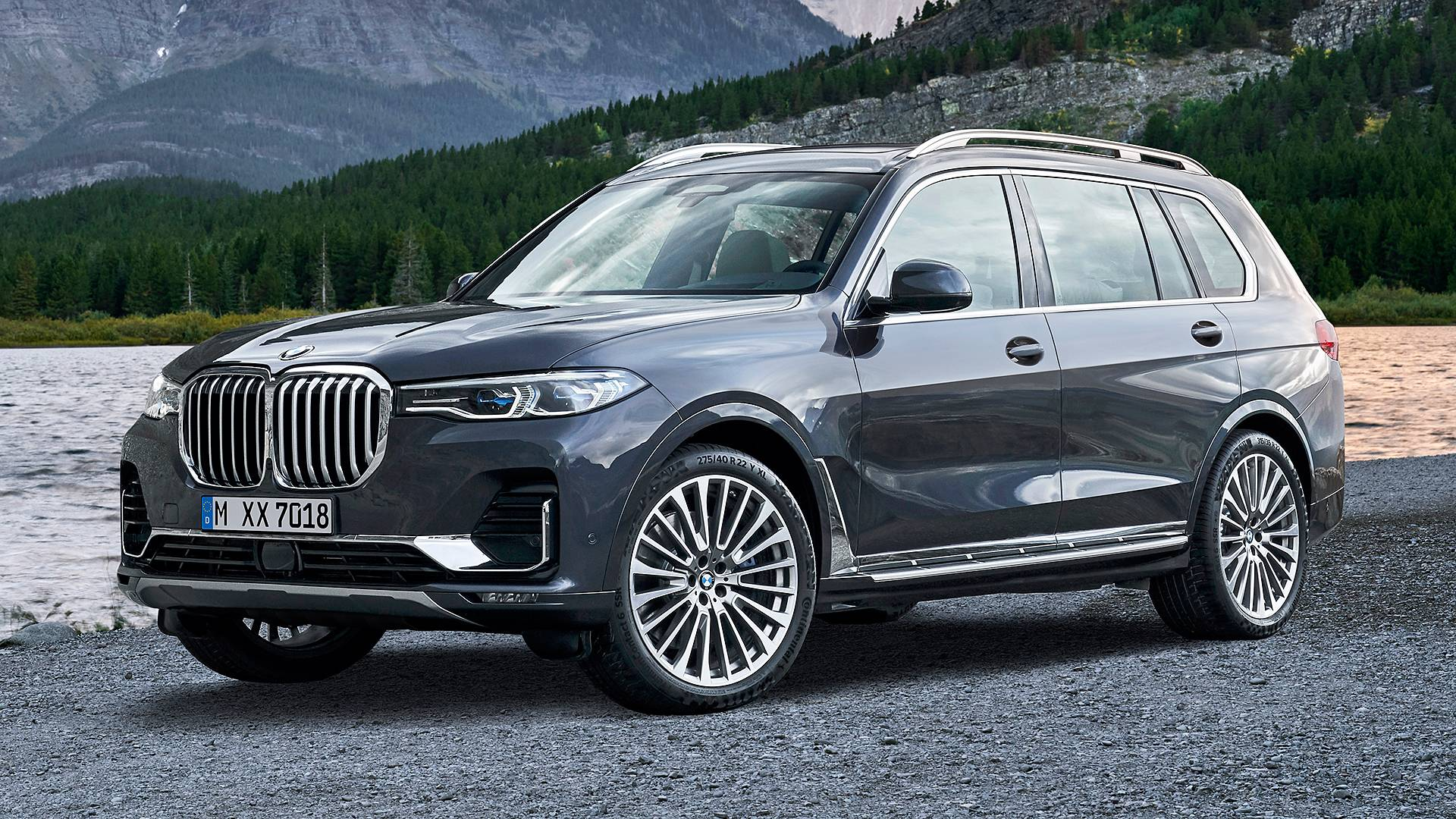 The novelty of the Bavarian automotive manufacturer is the SUV BMW X7
