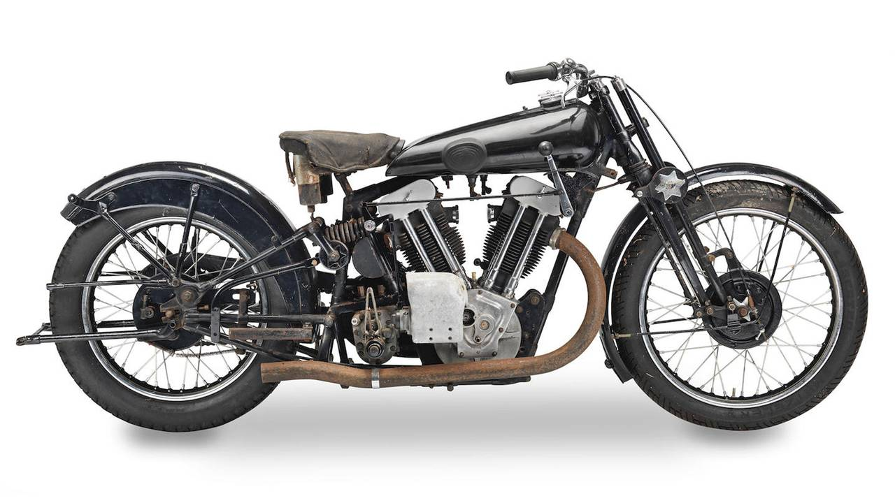 1933 Brough Superior 981cc SS100 Project