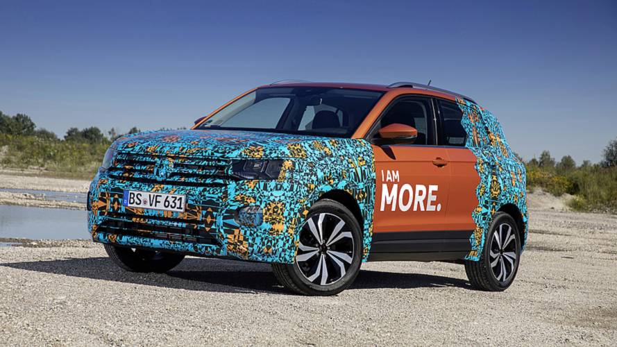 VW T-Cross teases its big boot