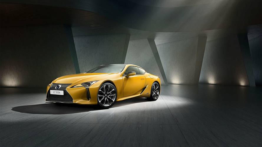 "La Lexus LC maintenant en ""Yellow Edition"" -"