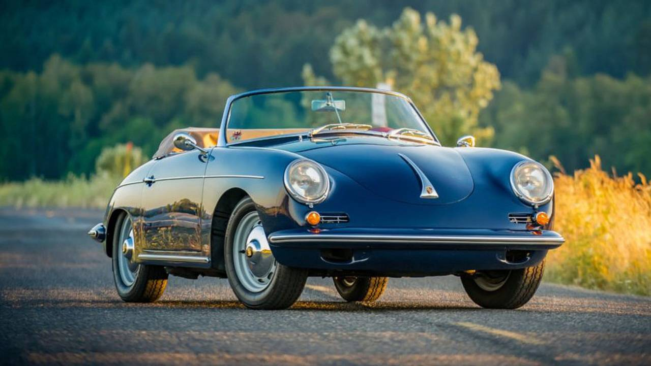 1961 Porsche 356B 1600S Roadster - $100,000