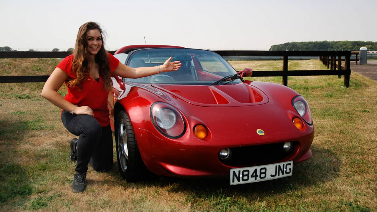Elisa Artioli and the Lotus Elise