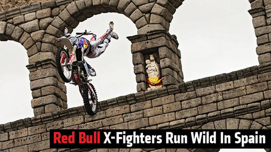 Red Bull X-Fighters Run Wild In Spain