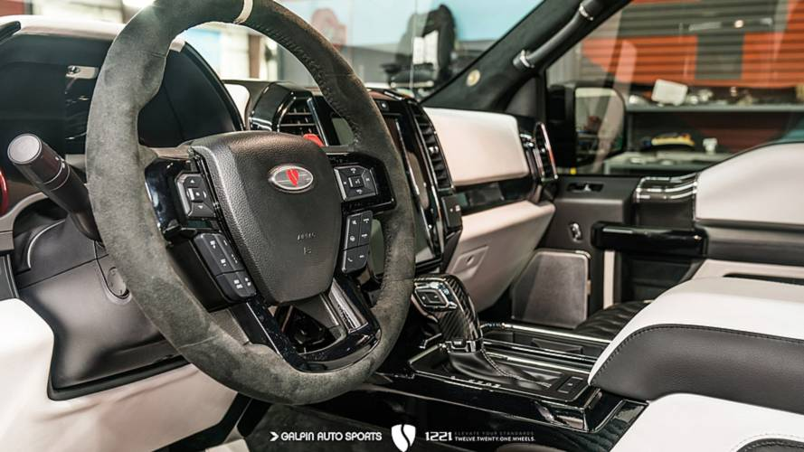 F 150 Raptor Interior >> Epic Ford Raptor Build Adds Everything From Bespoke Rims To Stars