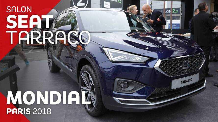 VIDÉO - Le SEAT Tarraco en direct du Mondial 2018