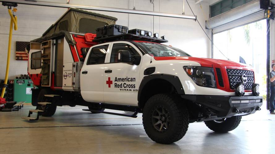 Nissan Ultimate Service Titan Deploys In Miami, Ready To Rescue