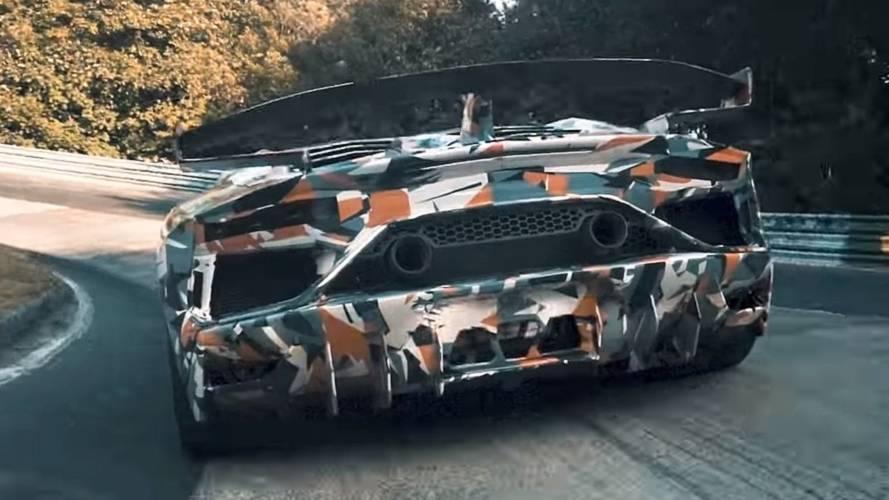 Lamborghini Aventador SVJ окажется мощной и лёгкой